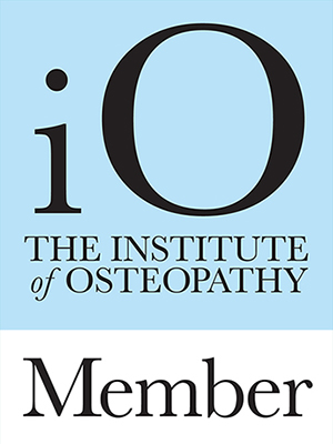 Logo: Institute of Osteopathy